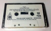 "Y&T ""In Rock We Trust"" RARE PROMO ADVANCE Cassette Tape Heavy Metal EX"