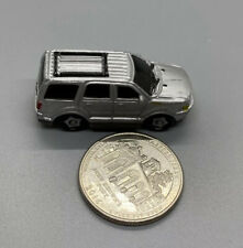 2003 Playmates Speedeez Micro Size Roller Ball Ford Expedition Silver, Good Cond