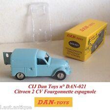CIJ Dan Toys n° DAN-021 Citroen 2 CV Fourgonnette espagnole