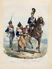 Preußen Militär Kürassier Raupenhelm Tambour Infanterie Bajonett Harnisch Reiter