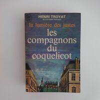 Henri TROYAT 1969 lumière des justes les compagnons du coquelicot France N5900
