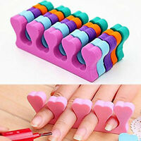 20x Soft Sponge Finger Toe Separator for Salon Nail Art Pedicure Manicure Tool