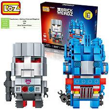 Transformers Optimus Prime Mtron gift toy souvenir LOZ iBLOCK mini  Nano new