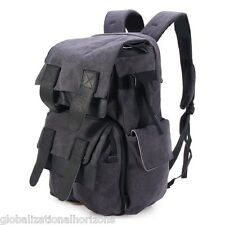 Caden M5 Canvas Multifunctional Camera Bag Backpack for Canon Nikon Sony Laptop