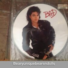 Michael Jackson Bad Picture Disc Album * Very Cool !