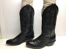 VTG WOMENS LAREDO COWBOY BLACK BOOTS SIZE 6 M
