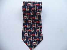 BMW men's silk necktie Hand Made in Italy.