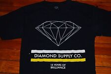 Men's Diamond Supply Company 15 Years of Brilliance Graphic T-shirt (Medium)