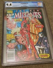The New Mutants #98 NEWS STAND CGC 9.4 WHITE PAGES FREE SHIPPING!!!