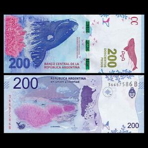 Argentina 200 Pesos, ND(2016), P-364, Banknote, UNC
