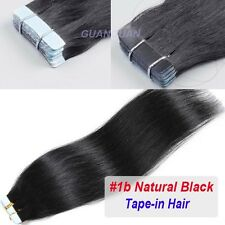 "AAA+ Tape In 40Pcs 100g 16""-24"" Skin Weft 100% Remy Human Hair Extensions P909"