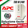 GRUPPO DI CONTINUITA UPS APC BACKUPS CS 650VA PROTEZIONE TENSIONE PC TELECAMERE!