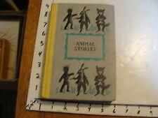 vintage book: ANIMAL STORIES tales of the old plantation JOEL CHANDLER HARRIS