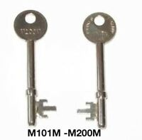 UNION / YALE 3 lever M101M - M200M mortice keys by number