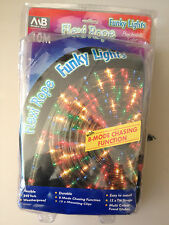 Flexi Rope Funky Lights Psychedelic Colour Christmas Lights 10M