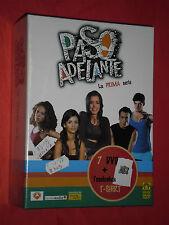 DVD FILM COFANETTO- PASSO ADELANTE-prima serie- CON 7 DVD + T-SHIRT-SIGILLATO