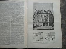 1889 Braunschweig Sievers Geschäftshaus