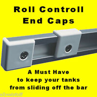 Scuba Tank Rack Bar End Cap Stop Roll Control Rail Track adjustable bracket dive