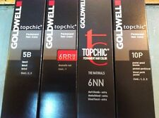 11 x GOLDWELL TOPCHIC HAIR COLOUR 60ML (BIG SALE)