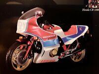HONDA CB1100 R - 1982 - blau / rot / weiss * 1:12  Minichamps 122161700
