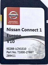 GENUINE NISSAN CONNECT 1 V10 MAPS LATEST SAT NAV SD CARD 2020