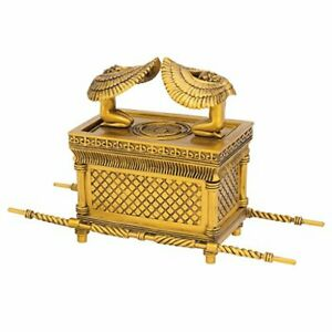 QL18429 Ark of the Covenant Religious Statue, 29 cm, Polyresin,