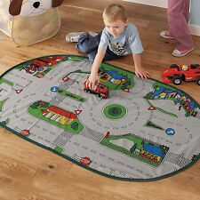 Diseño De Carretera Para Niños Play Mat & Carry Case