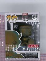 Funko POP! CAPTAIN AMERICA 497 Patina Target Exclusive H04