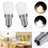 E14 Bulb SMD2835 LED Lamp Refrigerator Freezer Appliance Cool Warm White Light