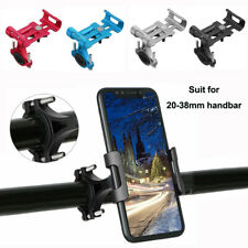 Aluminum Bike Mobile Phone Holder Motorcycle Bicycle MTB Handlebar GPS Mount Kit
