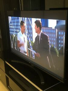 "Near New LG 55"" Black Ultra 4k High Definition Smart TV Magic Remote CHEAP"