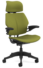 Humanscale Freedom F211 Sage Green Wave Fabric Ergonomic Office Desk Chair