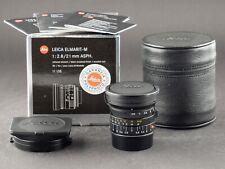 Leica M 21mm 2.8 Elmarit ASPH. 11135 6bit FOTO-GÖRLITZ Verkauf+Ankauf
