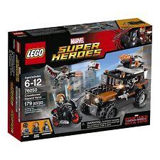 Lego Marvel Super Heroes 76050 Crossbones' Hazard Heist Black Widow Falcon NISB