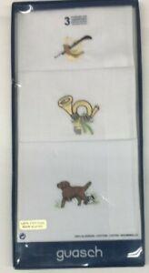 Men's Handkerchief, Box of Three, Made in Spain, Soft Cotton