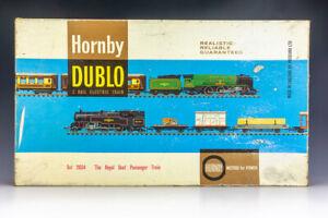 Hornby Dublo 2034 The Royal Scot Locomotive 2-Rail Electric Train Set - Boxed
