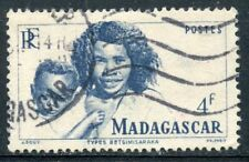 TIMBRE DE MADAGASCAR N° 312 OBLITERE TYPES BETSIMISARAKA