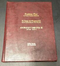 Position Play in 3-Cushion Billiards by Eddie Robin (1980, Hardcover) Signed