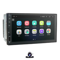 Android 9.0 In Dash Universal 2Din Car Head Unit GPS Nav Radio Bluetooth WiFi 4G