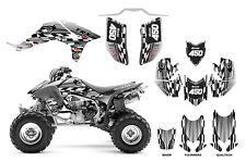 TRX 450R graphics custom racing wrap kit with Quadtech or Maier hood #2500 Metal