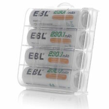 4x EBL AA Ni-MH 2300mAh Rechargeable Batteries For MP3 Toys Camera