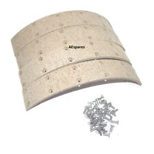 Brake Shoe Lining Kit With Rivets For Massey Ferguson 35 35X 135 240 Tractor
