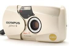 (Exc+++++)Olympus ?[mju:]-II 35mm F2.8 Point & Shoot Film Camera From JAPAN A387
