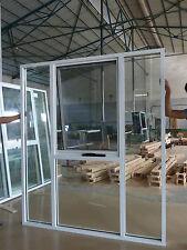 SALES PRICE 15%  WHITE Double glazed Aluminium BIG Awning window 2100H x 1800W