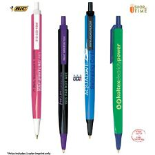 Promotional BIC Tri-Stic Pen Printed W/ Logo + Contact Info / Message  - 300 QTY