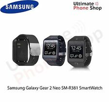 "SAMSUNG GALAXY GEAR 2 NEO SM-R381 ANDROID 4GB 1.63"" - Charcoal Black"