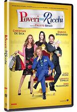 POVERI MA RICCHI (DVD) con Lodovica Comello, Christian De Sica, E Brignano