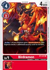 Digimon Card Game Birdramon BT1-017 Uncommon