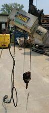 Pamph 12 Ton Zip Lift Cable Hoist Aa2 1 Hp 220440 Volt Withtrolley Amp Pendant