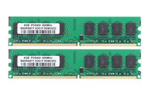 DDR2 RAM 8 GB 2X 4 GB 2Rx4 PC2-6400 800Mhz 240Pin Desktop Memory Only AMD CPU